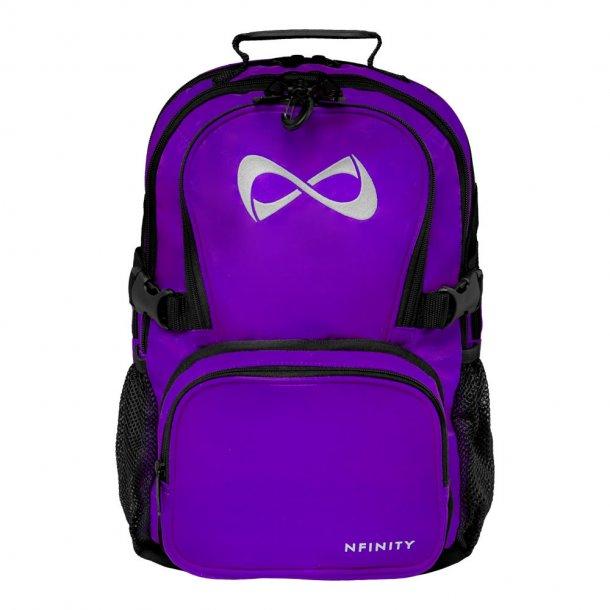 Nfinity - Klassisk lilla rygsæk - lille