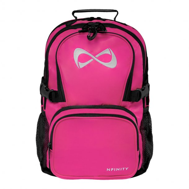 Nfinity - Klassisk pink rygsæk - lille